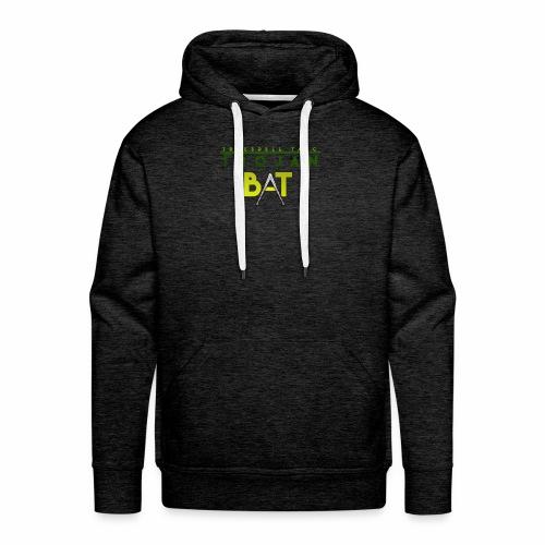 New Trojan Bat Logo - Men's Premium Hoodie