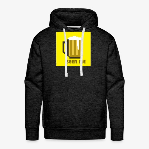 Beer Me in Yellow! - Men's Premium Hoodie