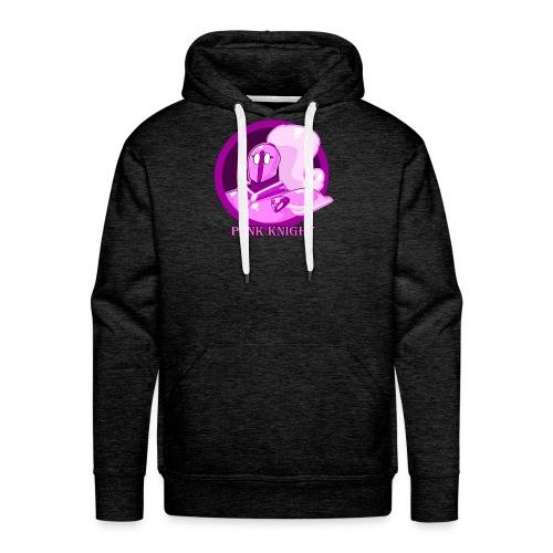 Pink Knight logoV2 - Men's Premium Hoodie