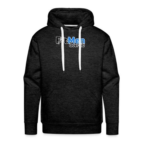 Fit Men Over 40 V-Neck Short Sleeve Shirt - Men's Premium Hoodie