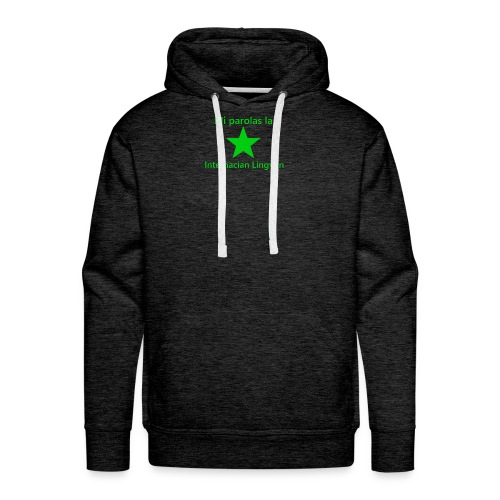 I speak the international language - Men's Premium Hoodie