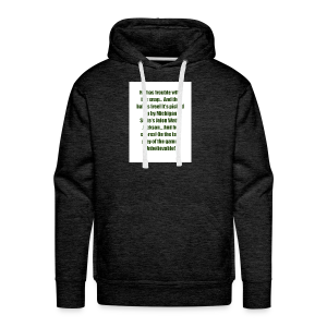 He_has_trouble_with_the_snap-1 - Men's Premium Hoodie