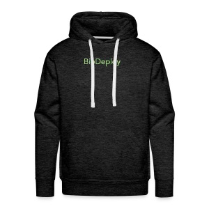 BioDeploy Logo Deep Green - Men's Premium Hoodie