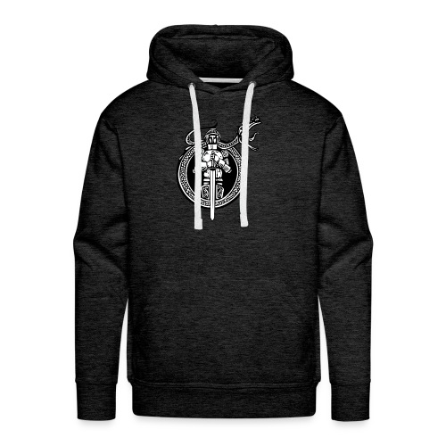 logo knight - Men's Premium Hoodie