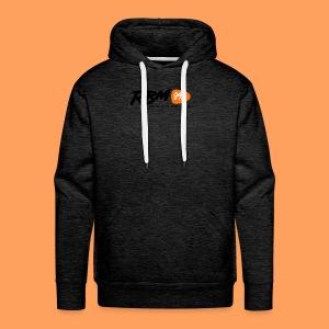 RBM Logo - Orange - Men's Premium Hoodie