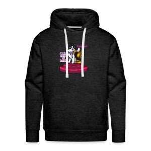 Allie, First at Last - Secret Cat with Trophy - Men's Premium Hoodie