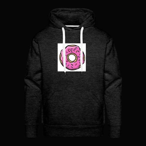 Doughnut Style - Men's Premium Hoodie