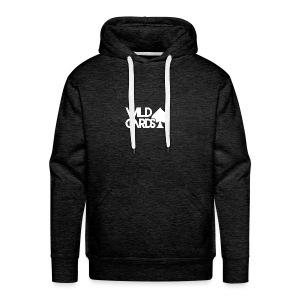 Black Wild Cards Hoodie - Men's Premium Hoodie
