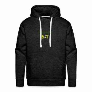 New Trojan Bat Logo - Men's Premium Hoodie