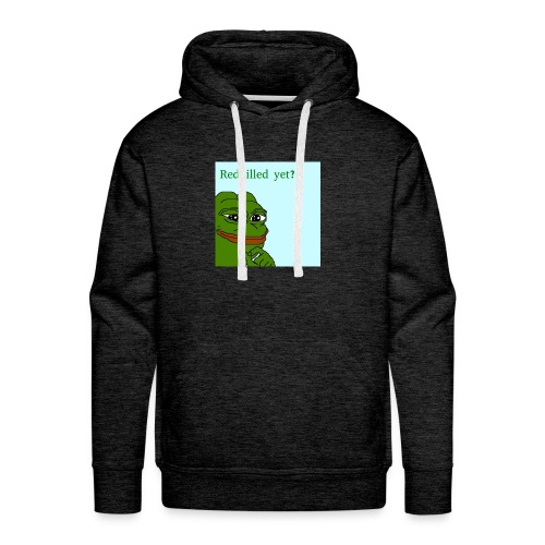Smug Pepe Design - Men's Premium Hoodie