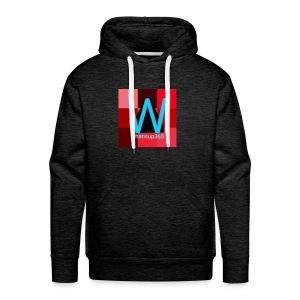 Whatisup365's logo 2014-2015 - Men's Premium Hoodie