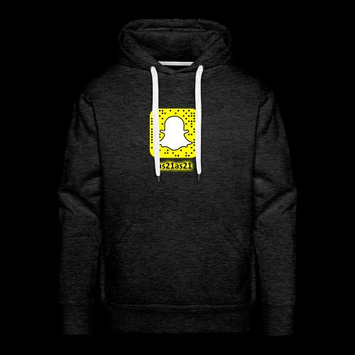 Alden's Snapchat - Men's Premium Hoodie
