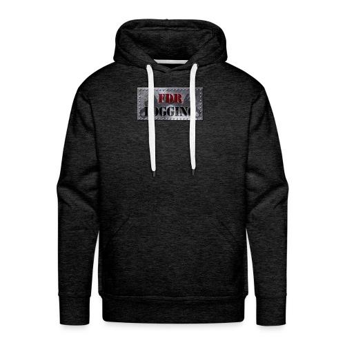 FDR Logging Main Logo - Men's Premium Hoodie