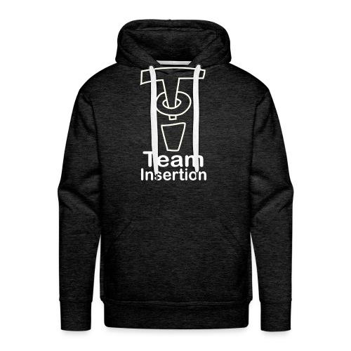 Team Insertion White - Men's Premium Hoodie