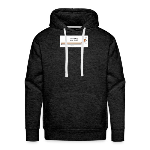 Hockey Stick - Men's Premium Hoodie