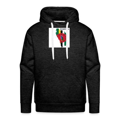 DOMINICA Flag - Men's Premium Hoodie