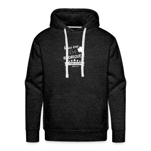 i'm mostly peace love and light and a little - Men's Premium Hoodie