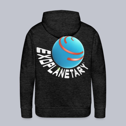 Logo for Dark Backgrounds - Men's Premium Hoodie