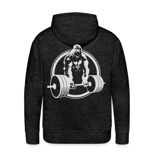 Gorilla Lifting Gym Fit - Men's Premium Hoodie