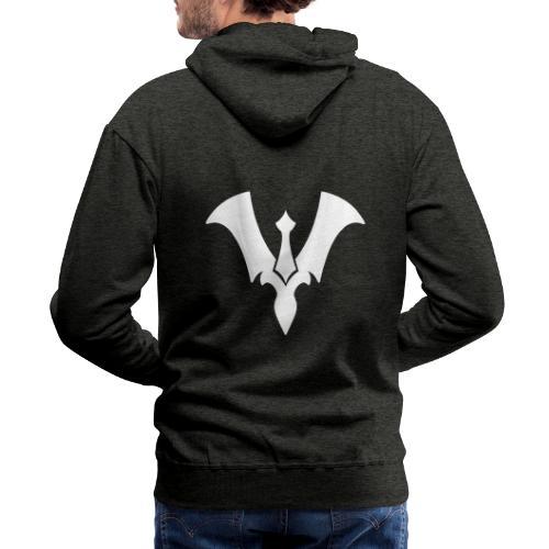 Suit New Logo White - Men's Premium Hoodie