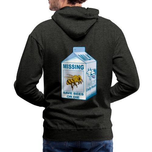 Missing Bees - Men's Premium Hoodie