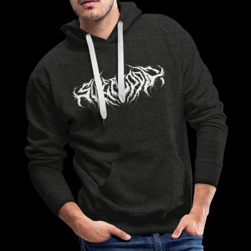 Supercool! logo - REVAMPIRED [WHITE] - Men's Premium Hoodie