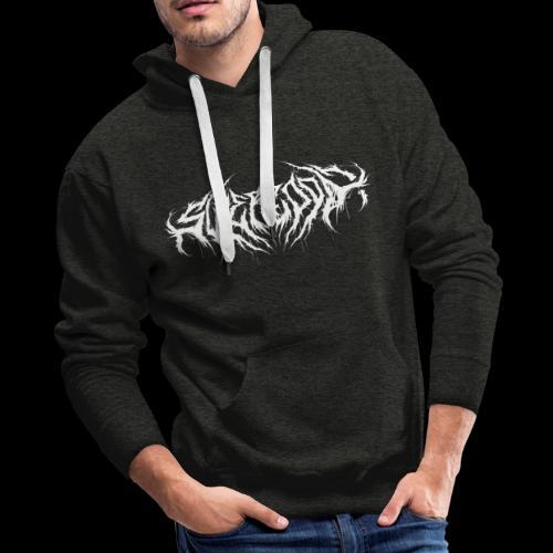 Supercool! logo - REVAMPIRED [WHITE] - Men's Premium Hoodie