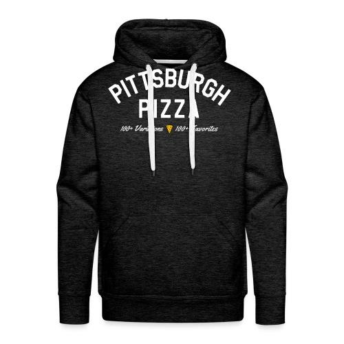 Pittsburgh Pizza - Men's Premium Hoodie