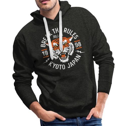 tiger kyoto japan - Men's Premium Hoodie