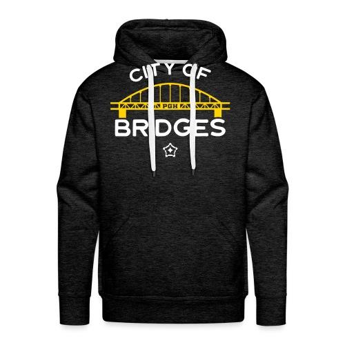 Pittsburgh City Of Bridges - Men's Premium Hoodie