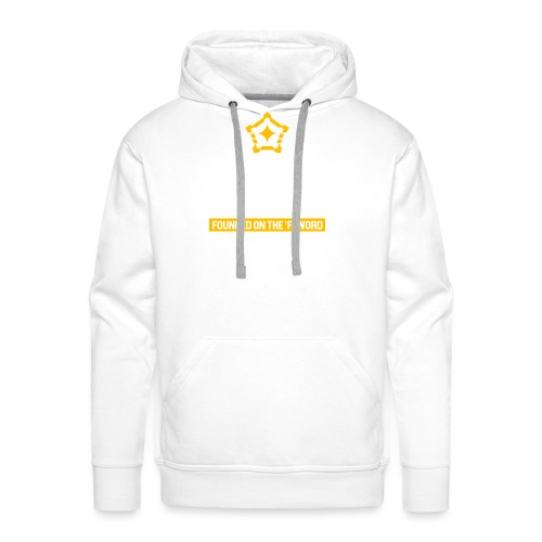 Founded on the 'F' Word - Men's Premium Hoodie