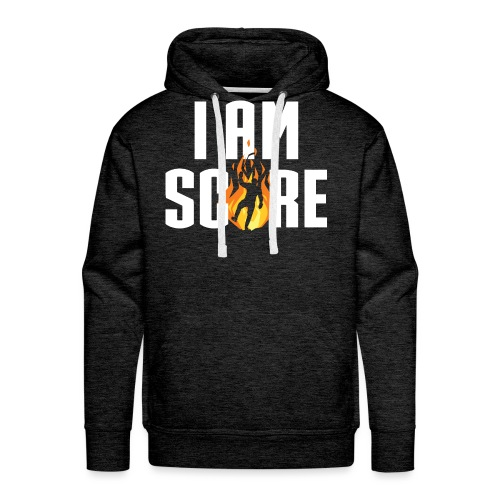 I am Fire. I am Score. - Men's Premium Hoodie