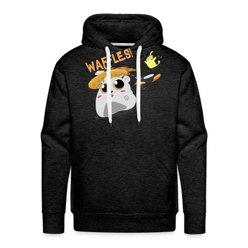 Waffles! - Men's Premium Hoodie