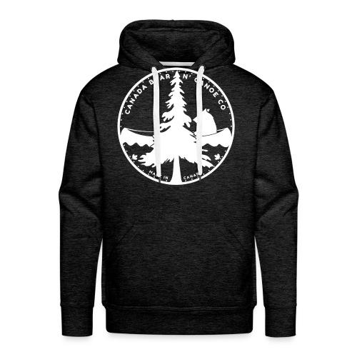 Canada Bear N Canoe CO Fi - Men's Premium Hoodie
