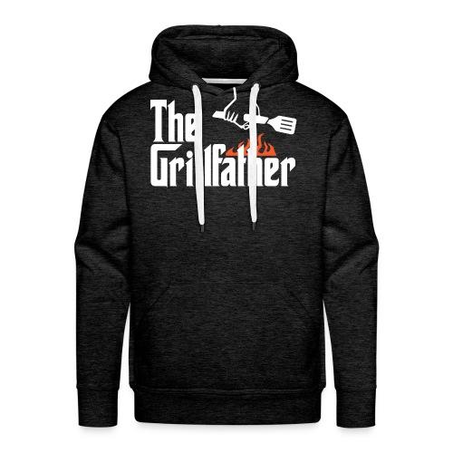 The Grillfather - Men's Premium Hoodie