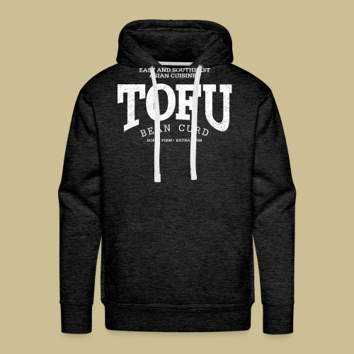Tofu (white oldstyle) - Men's Premium Hoodie