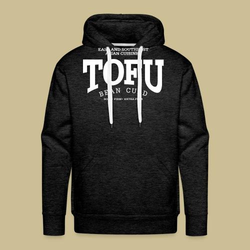 Tofu (white) - Men's Premium Hoodie
