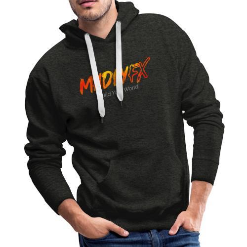 MadlyFX Build Your World - Men's Premium Hoodie
