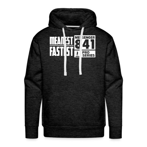 Messenger 841 Meanest and Fastest Crew Sweatshirt - Men's Premium Hoodie