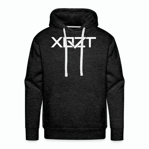 #XQZT Logo Snow White - Men's Premium Hoodie