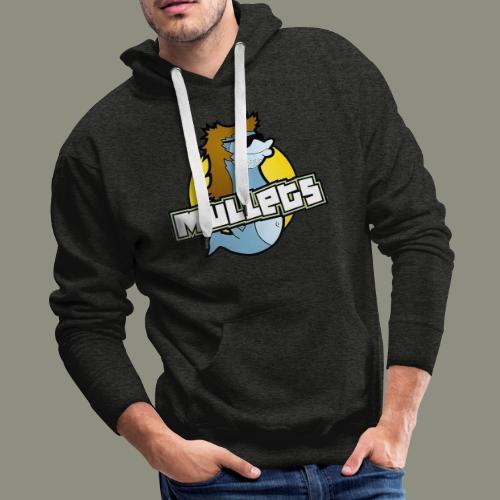 mullets logo - Men's Premium Hoodie