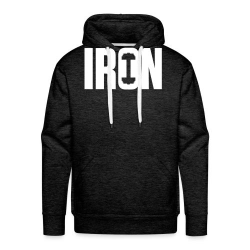 IRON WEIGHTS - Men's Premium Hoodie