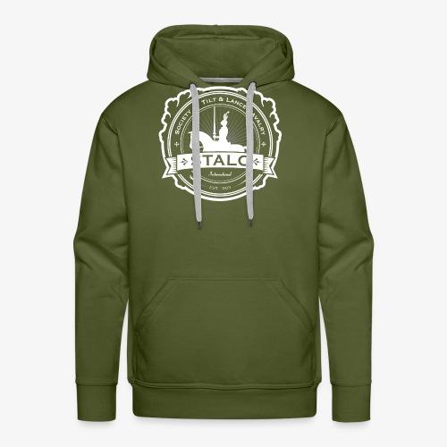STALC Logo White only - Men's Premium Hoodie