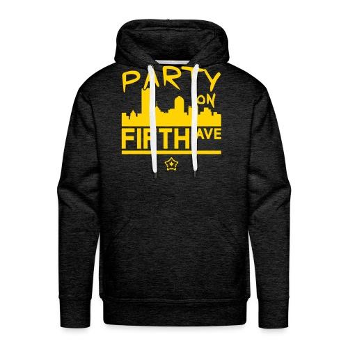 party_on_fifth2 - Men's Premium Hoodie