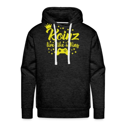 Live Like A King - Men's Premium Hoodie