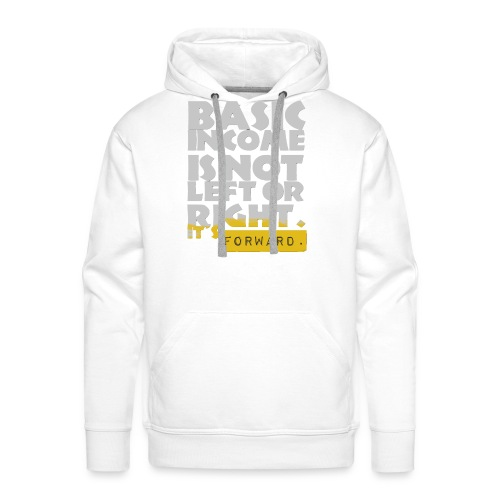 UBI is not Left or Right - Men's Premium Hoodie