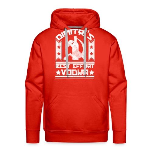 vodkavintagewhite - Men's Premium Hoodie