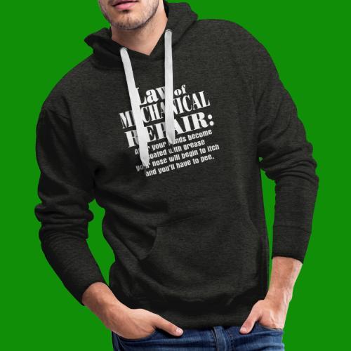 Law of Mechanical Repair - Men's Premium Hoodie