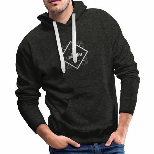 unbeaten logo - Men's Premium Hoodie