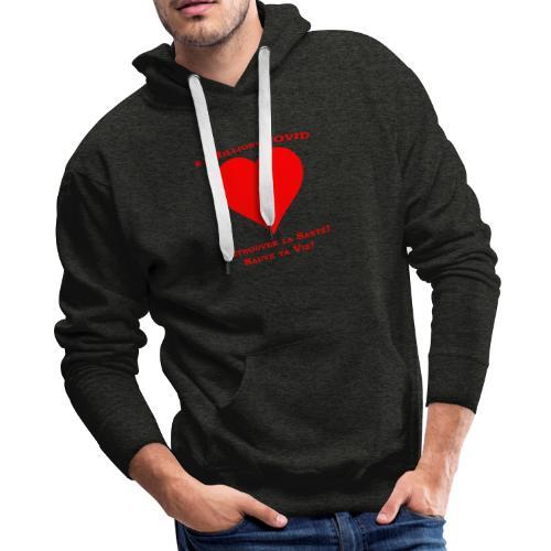 1Million4Covid FR - Men's Premium Hoodie